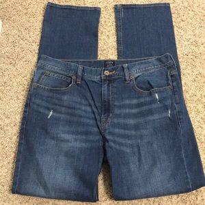 J Crew Sutton Jeans